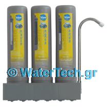 Τριπλό φίλτρο νερού βρύσης