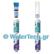 φίλτρο κεντρικής παροχής 1/2 + ανταλλακτικά 5 microns + 2 x φίλτρο μπάνιου & πλυντηρίου