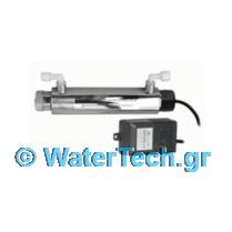 σύστημα λάμπας UV με μετασχηματιστή και clips